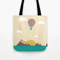 Love Balloon Tote Bag