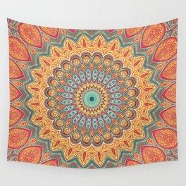 Jewel Mandala - Mandala Art Wall Tapestry
