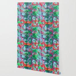 Birches Wallpaper