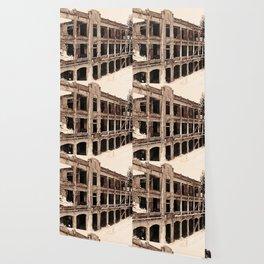 Mile-Long Barracks Wallpaper