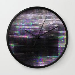 Glitch, please Wall Clock