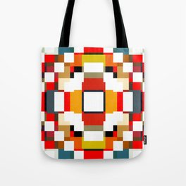 multicolored spatial geometric shellycoat Tote Bag