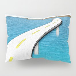 Road Work Ahead Pillow Sham