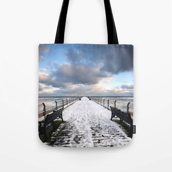 Saltburn by the Sea Tote Bag