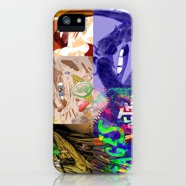 """Faces - Petty"" by Blackard, Boehm, Fiche, Livengood, & McCarthy iPhone Case"