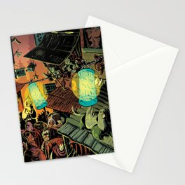 Lanterns Stationery Cards