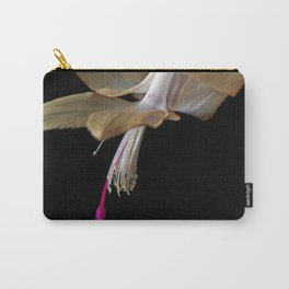 Yellow Christmas Cactus Carry-All Pouch