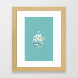 [pastel] jinyoung / got7 Framed Art Print