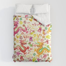 Scared dragons Comforters