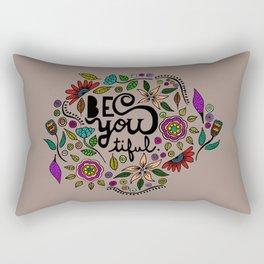 Be You-Tiful (color variation) Rectangular Pillow