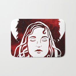Scarlet and the Wolf Bath Mat