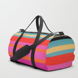 Sunset Stripes Duffle Bag