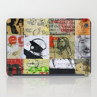 notebook iPad Cases featuring SCHOOL NOTEBOOK by db Waterman