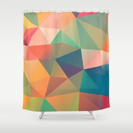 Geometric XIV Shower Curtain