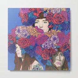 Hallie - Florae Series Metal Print
