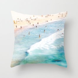 Lazy Daze at Bondi Throw Pillow
