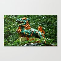 courage Canvas Prints featuring Courage by Anthony M. Davis