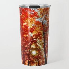 Sun in the Trees Travel Mug