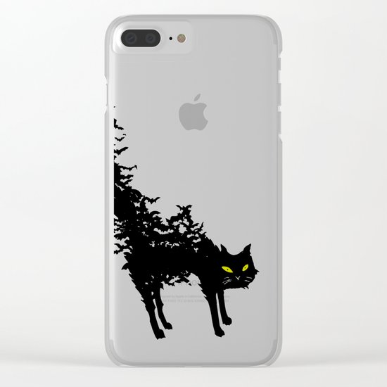 Freaking Meow Clear iPhone Case
