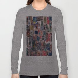 20th Century through stamps Long Sleeve T-shirt