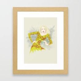 Batika Framed Art Print