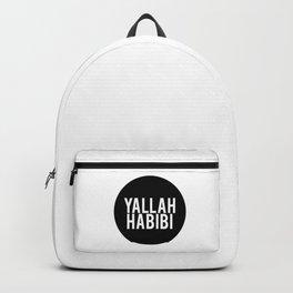 Yallah-Habibi arabic arabia art work Backpack