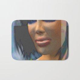 Lips Disdained, 2008 Bath Mat