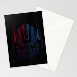Optimus Prime Line Art by Kaydesign Stationery Cards