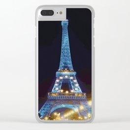 Eiffel Clear iPhone Case