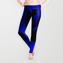 Blue Rose II Leggings