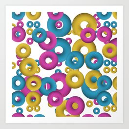 minimalist Fruity loops! Art Print
