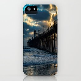 South Side Oceanside Pier ~10-2015 iPhone Case