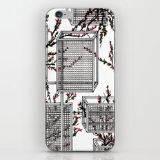 geo spring iPhone & iPod Skin