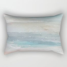 Sea breeze, acrylic on canvas Rectangular Pillow