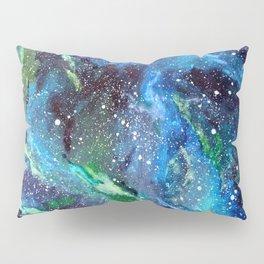 Galaxy (blue/green) Pillow Sham