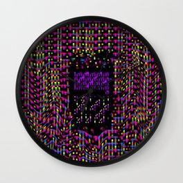 Pixeland 2 Wall Clock