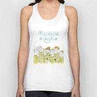 moonrise kingdom Tank Tops featuring Moonrise Kingdom by Elly Liyana