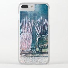 The Artist's Shelf Clear iPhone Case