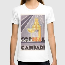 Vintage 1941 Cordial Campari Advertisement by Nicolay Diulgheroff T-shirt