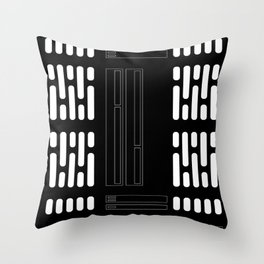 Sci-Fi Light Panel Wall Throw Pillow