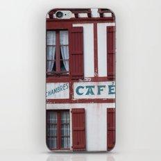 Basque Café iPhone & iPod Skin