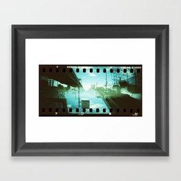 Horizontal Split (2) Framed Art Print