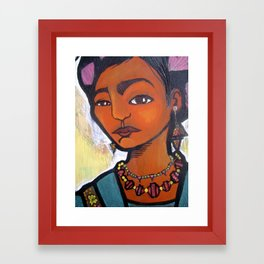 frida kahlo the great Framed Art Print