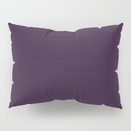 Dark Purple Violet Pillow Sham