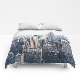 New York City and the Empire State Building Comforters
