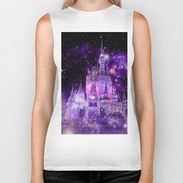 Enchanted Castle Purple Pink Biker Tank