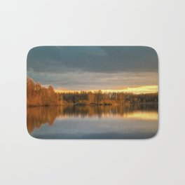 Nature lake 88471 Laupheim - Germany Bath Mat