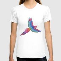 parrot T-shirts featuring Parrot by Luna Portnoi