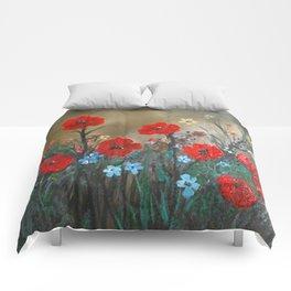 Impasto Poppy Love - Talins Poppy Love Comforters