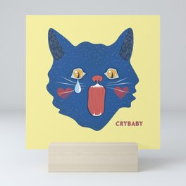 Crybaby Kitty Mini Art Print